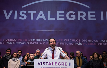 pablo-iglesias-secretario-general-de-podemos-en-el-segundo-congreso-de-vista-alegre-en-madrid-febrero-de-2017-highlighted